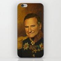 replaceface iPhone & iPod Skins featuring Robin Williams - replaceface by replaceface