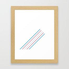 Transcend: On the Rise Framed Art Print