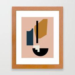 Shape study #2 - Lola Collection Framed Art Print