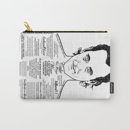 Withnail & I 'Cake & Fine Wine' Carry-All Pouch