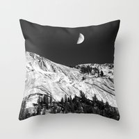 yosemite Throw Pillows featuring Yosemite by Claude Gariepy