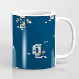 Paris Windows 2 Pattern Coffee Mug