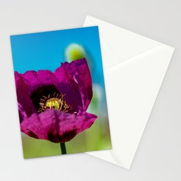 The beauty of purple Stationery Cards