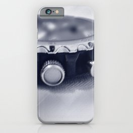 pastel blue hour iPhone Case