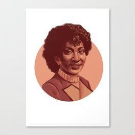 Space Queen Canvas Print