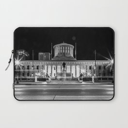 Columbus State House Long Exposure Laptop Sleeve