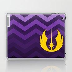 Jedi Order in Gold On Purple Ombre Chevrons Laptop & iPad Skin