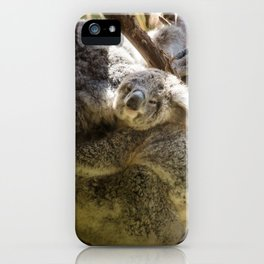 Mama and Baby Koala Bear iPhone Case