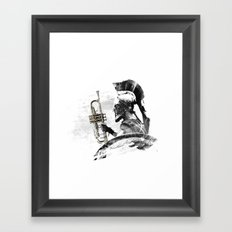 Trumpet Warrior Framed Art Print