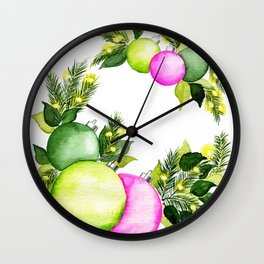 Light Bright Wall Clock
