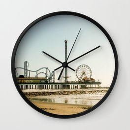 Pleasure Pier Wall Clock