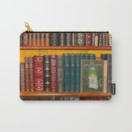 Old Books Carry-All Pouch