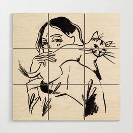 Those feelings Wood Wall Art