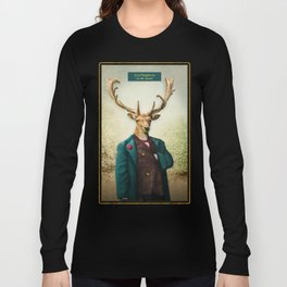 Lord Staghorne in the wood Long Sleeve T-shirt
