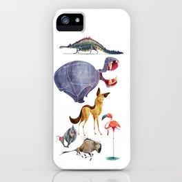 African animals 3 iPhone Case