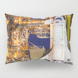Discovery Space Shuttle Launch Pillow Sham