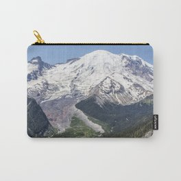 Mount Rainier on the Sunrise Side Carry-All Pouch