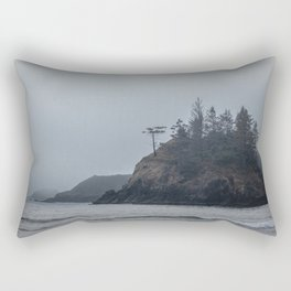 Fading Into The Clouds Rectangular Pillow