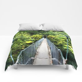 Is this your real path? The Bridge in Wild Rainforest Comforters