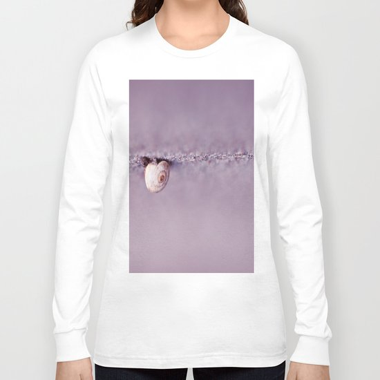 Snail on Crack Long Sleeve T-shirt