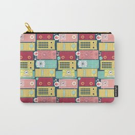 Turn the vintage radios on Carry-All Pouch
