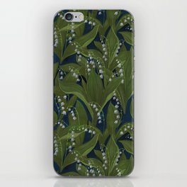 Lily of the Valley Field iPhone Skin