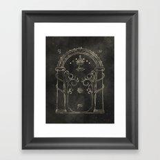 Mines of Moria Framed Art Print