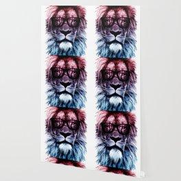 Hipster Lion Gradient art Wallpaper