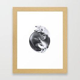 Future Waves Framed Art Print