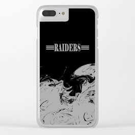 THE RAIDERS Clear iPhone Case