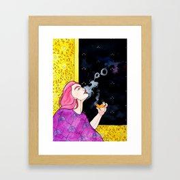 #AsthmaLife - Watercolor Framed Art Print