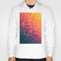 gradient Hoodies featuring Infinity Twilight by Picomodi