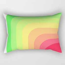 Retro Watermelon Rectangular Pillow
