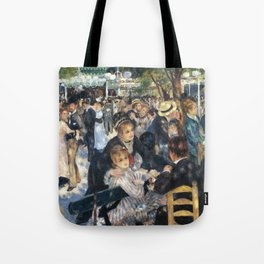 Dance at Le Moulin de la Galette by Renoir Tote Bag