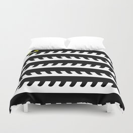 Cryptid Long Cat Duvet Cover