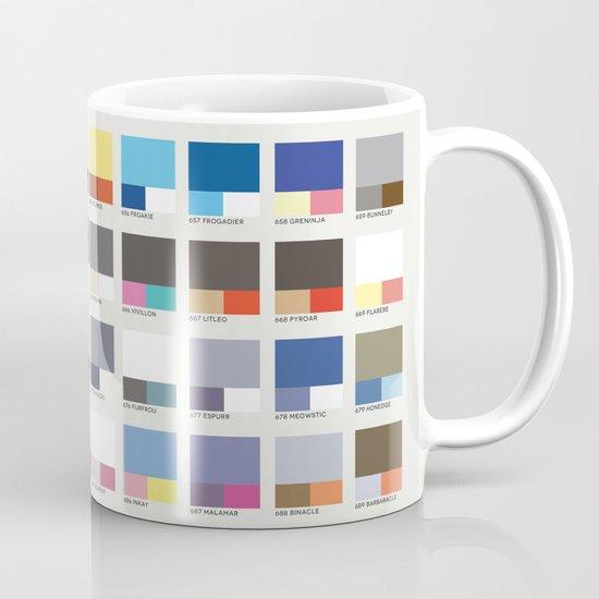 Poke-Pantone 6 (Kalos Region) Mug