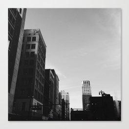 Broderick Tower - Detroit, MI Canvas Print