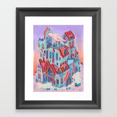 The Pointing House Framed Art Print