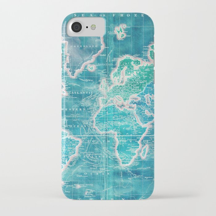 The World - Sans Type iPhone Case