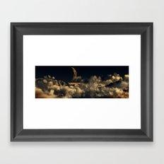 Warm Night Framed Art Print