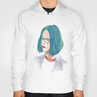 ghost world Hoodies featuring Ghost World by holy crow