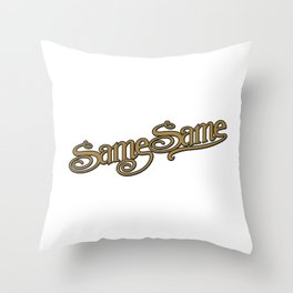 Same Same but Different! Throw Pillow