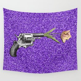 FORAL SHOT Wall Tapestry