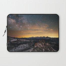 Matthes Crest Night Laptop Sleeve