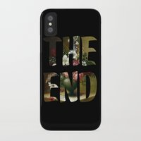 The END iPhone X Slim Case