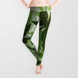 Peaches and Greens Leggings