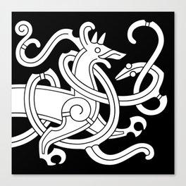 Mammen Style Ornament I Canvas Print
