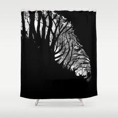 Nature Stripes Shower Curtain
