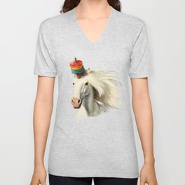 Rescue Unicorn Unisex V-Neck