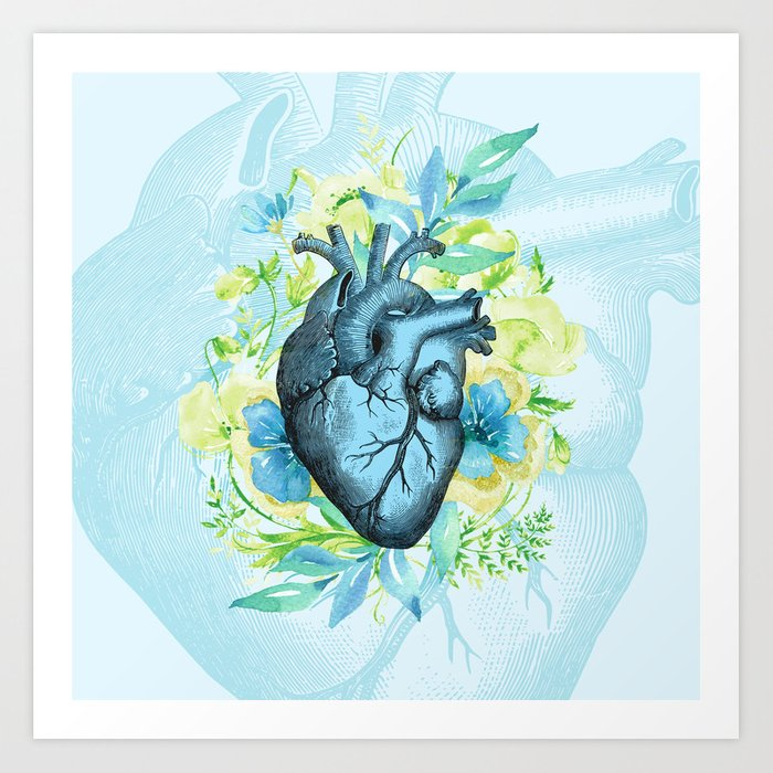Rest Your Heart Here, Dear Art Print